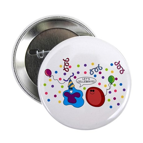 """Let's Cellebrate 2.25"""" Button (10 pack)"""