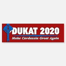 Star Trek Vote Dukat 2016 Bumper Car Car Sticker