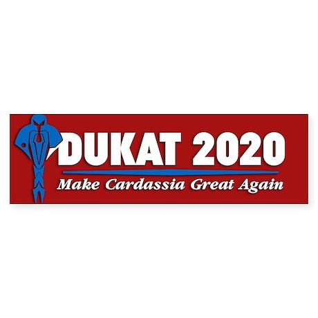 Dukat 2016 Bumper Sticker