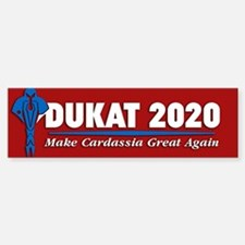 Star Trek Vote Dukat 2020 Sticker (Bumper)