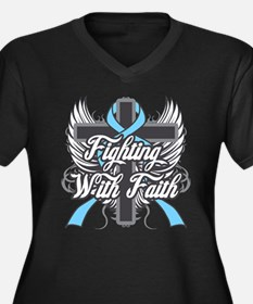 Graves Disease Fighting With Faith Women's Plus Si