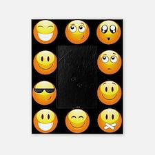 black emojis Picture Frame
