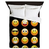 Emoji Queen Duvet Covers