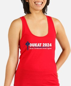 Star Trek Vote Dukat 2016 Racerback Tank Top