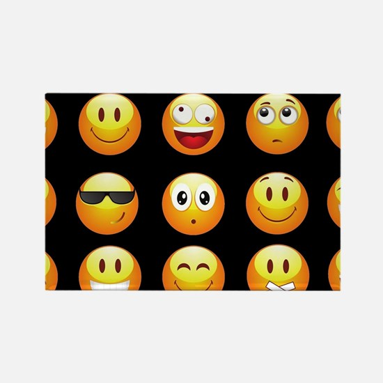 black emojis Magnets