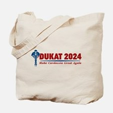 Star Trek Vote Dukat 2016 Tote Bag