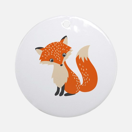 Cute Cute fox Round Ornament