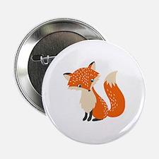 """Cute Fox 2.25"""" Button"""