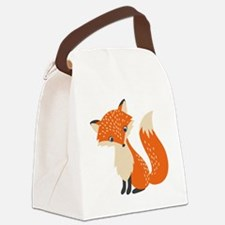 Cool Foxes Canvas Lunch Bag