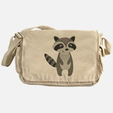 Unique Raccoon Messenger Bag