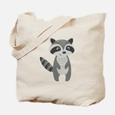 Cute Raccoon Tote Bag
