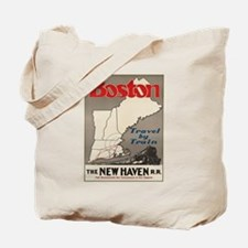 Vintage poster - Boston Tote Bag