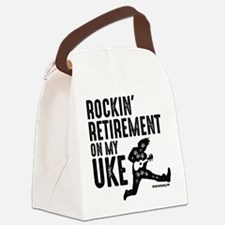 Rockin Retirement Uke Canvas Lunch Bag