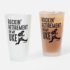 Rockin Retirement Uke Drinking Glass