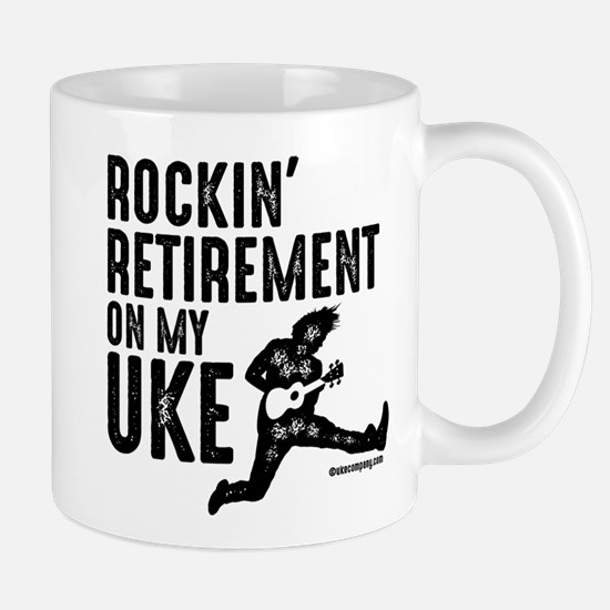 Rockin Retirement Uke Mugs