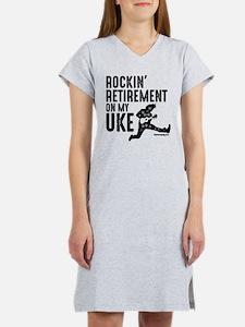 Rockin Retirement Uke Women's Nightshirt