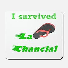 I survived L Chancla Mousepad