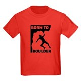 Bouldering Kids T-shirts (Dark)