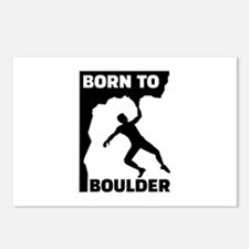 Born to Boulder Postcards (Package of 8)