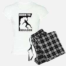 Born to Boulder Pajamas