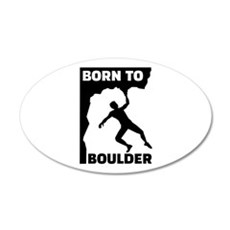 Born to Boulder Wall Decal