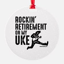 Rockin Retirement Uke Ornament