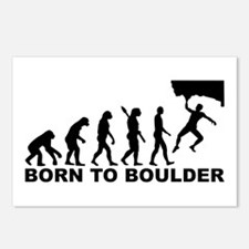 Evolution Born to Boulder Postcards (Package of 8)
