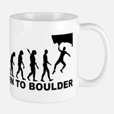 Evolution Born to Boulder Mug
