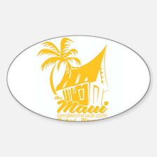 The Maui Sandwich Shack Decal