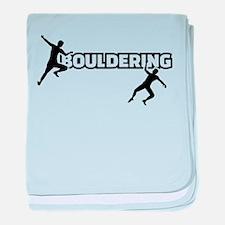 Bouldering baby blanket
