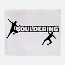 Bouldering Throw Blanket
