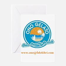 Ono Sandy Beach Greeting Cards