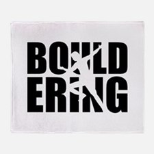 Bouldering Throw Blanket
