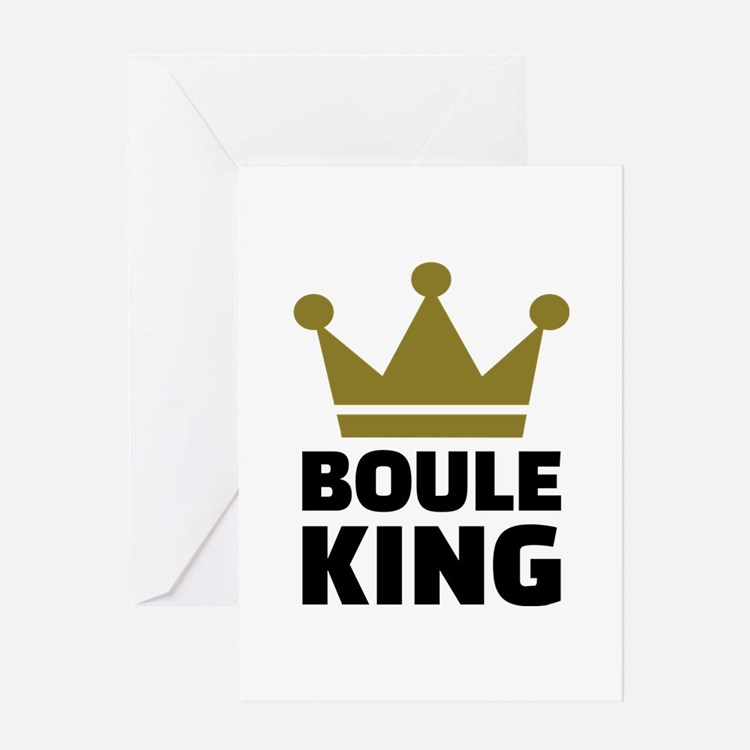 Boule king champion Greeting Card