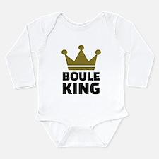 Boule king champion Long Sleeve Infant Bodysuit