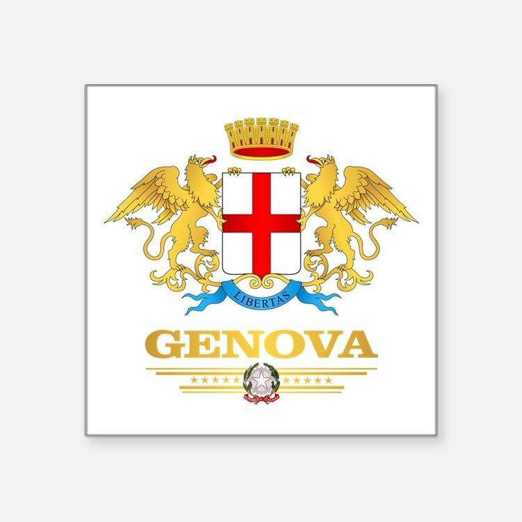 Genova Sticker