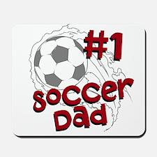 #1 Soccer Dad Mousepad