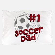 #1 Soccer Dad Pillow Case