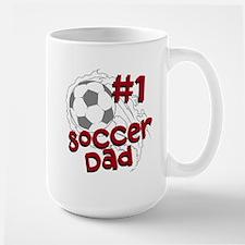 #1 Soccer Dad Mugs