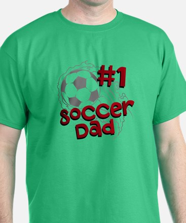 #1 Soccer Dad T-Shirt