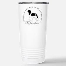 Unique Newfoundland dog Travel Mug