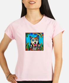 Reyna, the Heeler Performance Dry T-Shirt