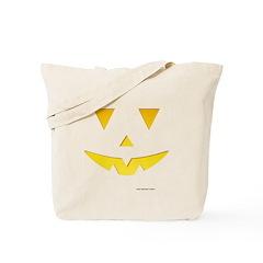 Smiley Pumpkin Face Tote Bag