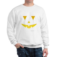 Smiley Pumpkin Face Sweatshirt