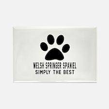 Welsh Springer Spaniel Rectangle Magnet (10 pack)