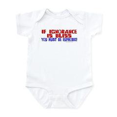 Ignorance is Bliss Infant Bodysuit