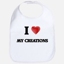I love My Creations Bib