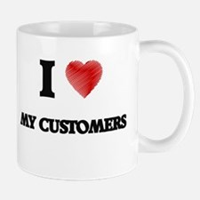 I love My Customers Mugs