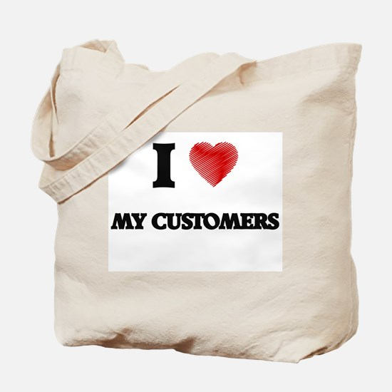 I love My Customers Tote Bag
