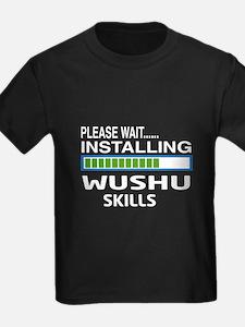 Please wait, Installing Wushu Sk T